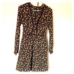 Long sleeve Topshop dress